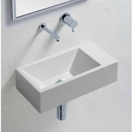 Hastings - Hastings Verso 50 Basin - White - 0 Or 1 Faucet Hole ...