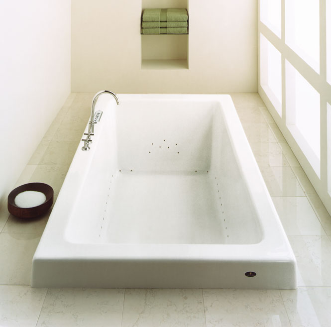 Zen 3672 Rectangular 2u0027 Bathtub Only | ZEN36722RS